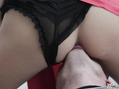 Beautiful brunette Krystal Boyd and hot Dillion Harper in exciting porn videos